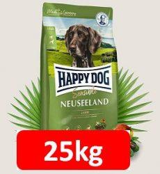 Kedvezményes szállítással : Happy Dog Supreme sensibile Neuseeland 12,5kg ,