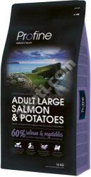 Kedvezményes szállítással : Profine Adult Large Salmon & Potatoes száraz kutyatáp 15 kg