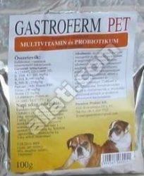 5db-tól : Gastroferm Pet probiotikum és vitamin por 100 gr.