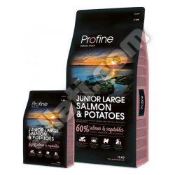 Profine Junior Large Salmon & Potatoes superprémium kutyatáp 15 kg ,