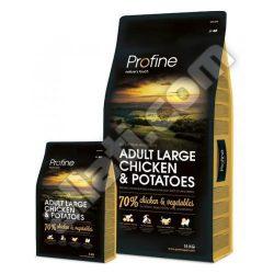 Profine super prémium Adult Large Chicken&Potatoes 15kg  izületvédelemmel ,