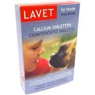 LAVET calcium csonterősitő 50 szem kutyák számára