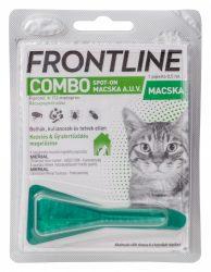 Frontline Combo macska  1db ampulla Hatóanyag: Fipronil