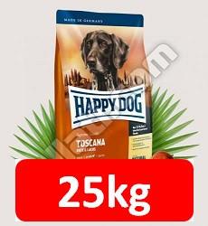 Kedvezményes szállítással : Happy Dog Supreme Toscana 12,5kg Sensibile